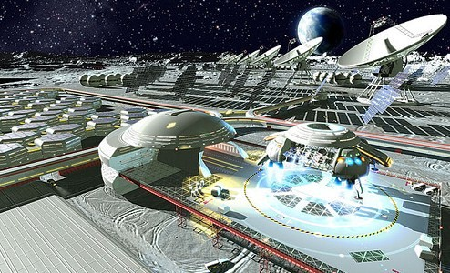NASA could go back to the future for moon base plans